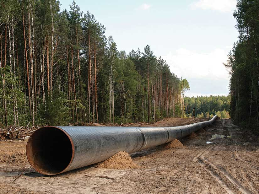 Large pipe outside-STOCK photo