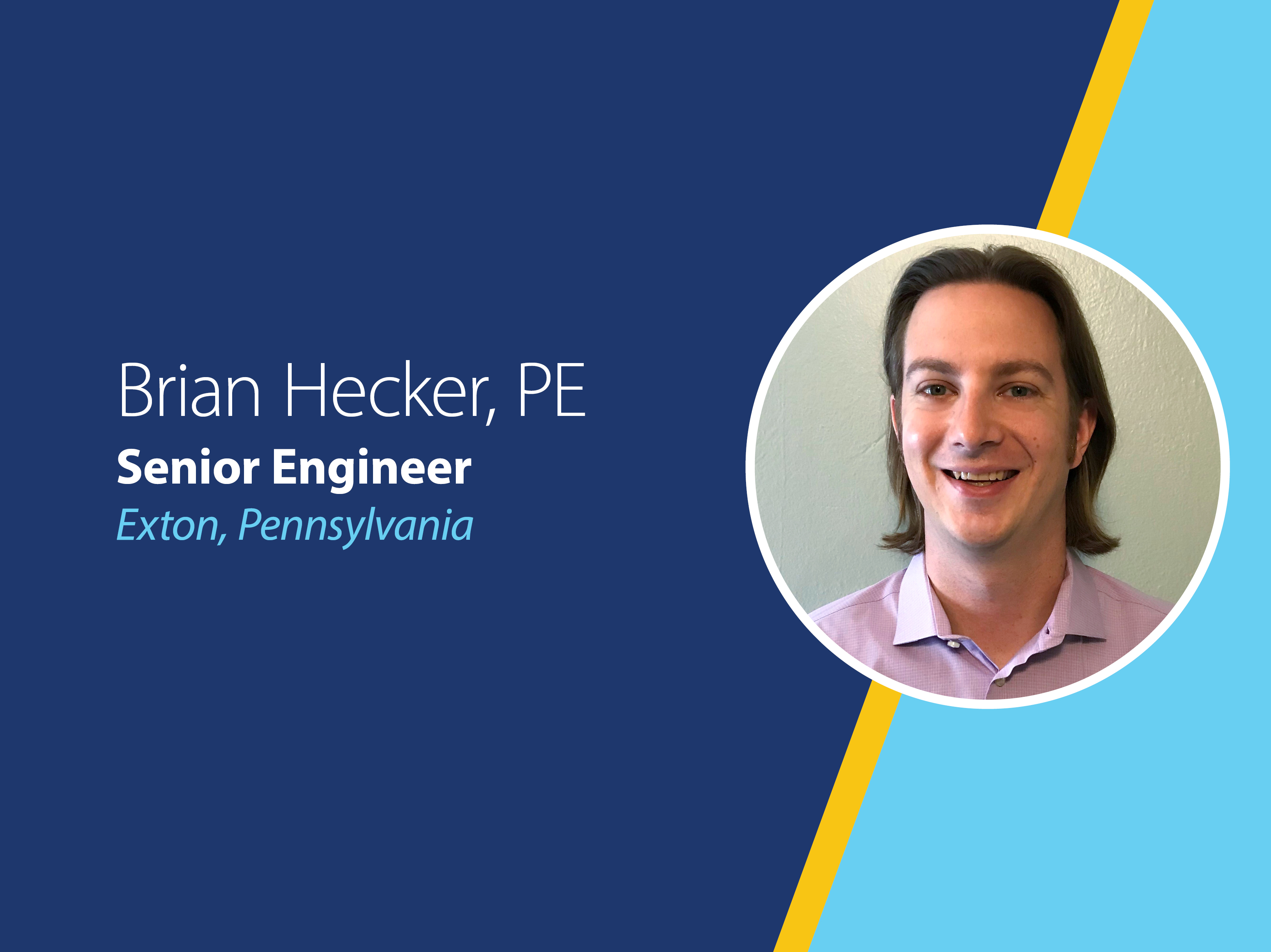 Brian Hecker, PE, Senior Engineer, GES