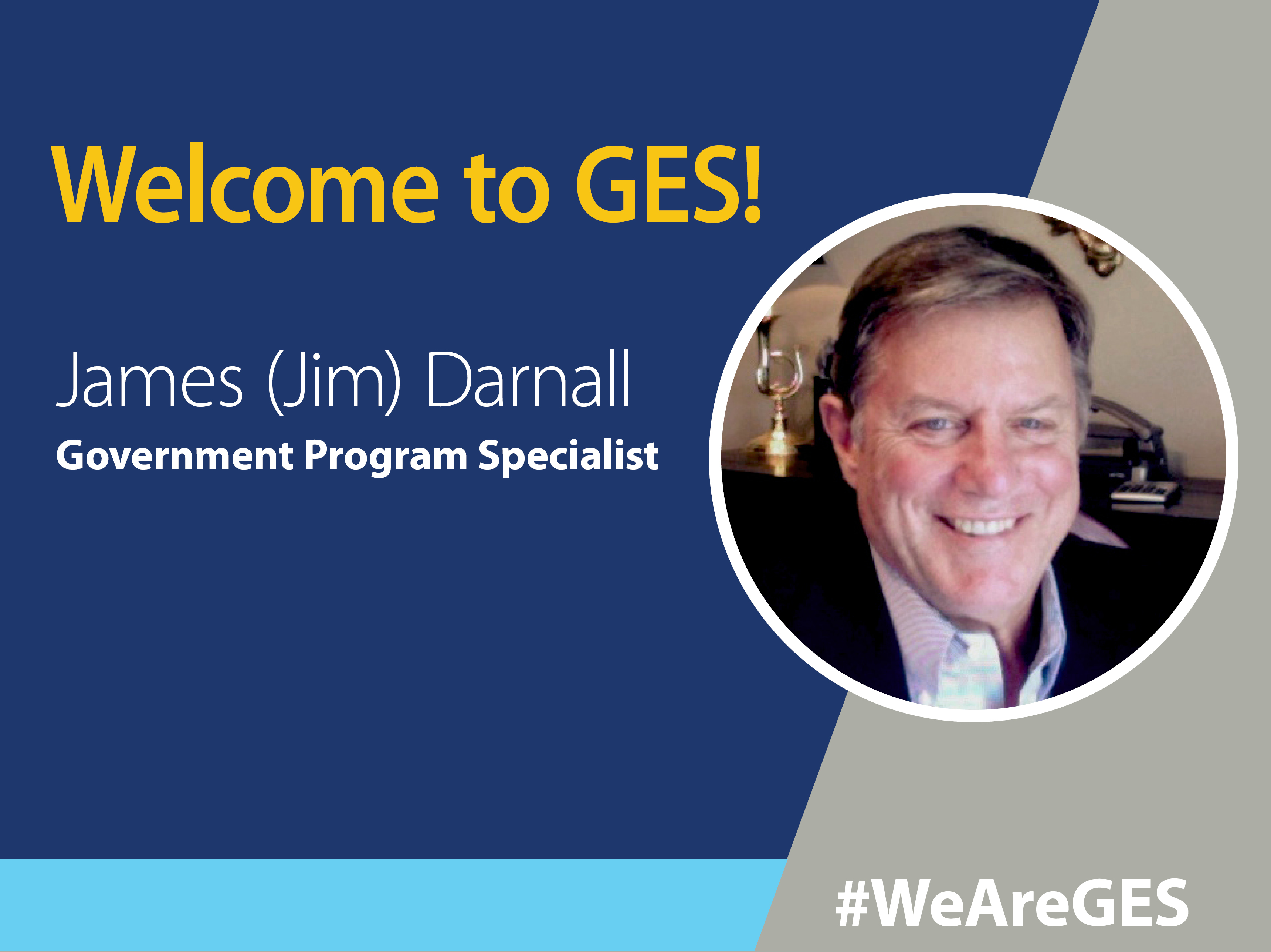 Jim Darnall, GES Government Program Specialist