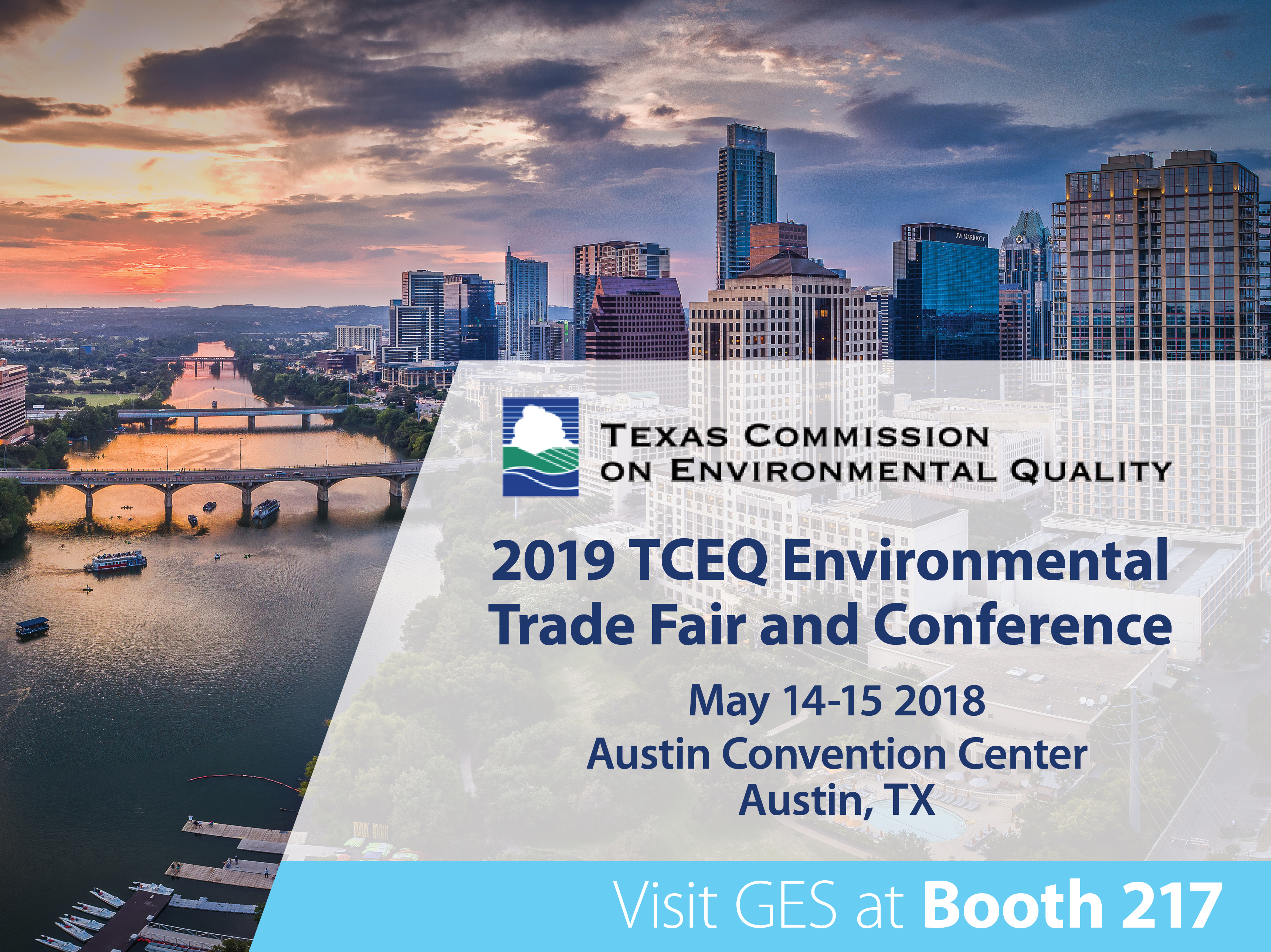 TCEQ 2019 Conference - GES Booth 217