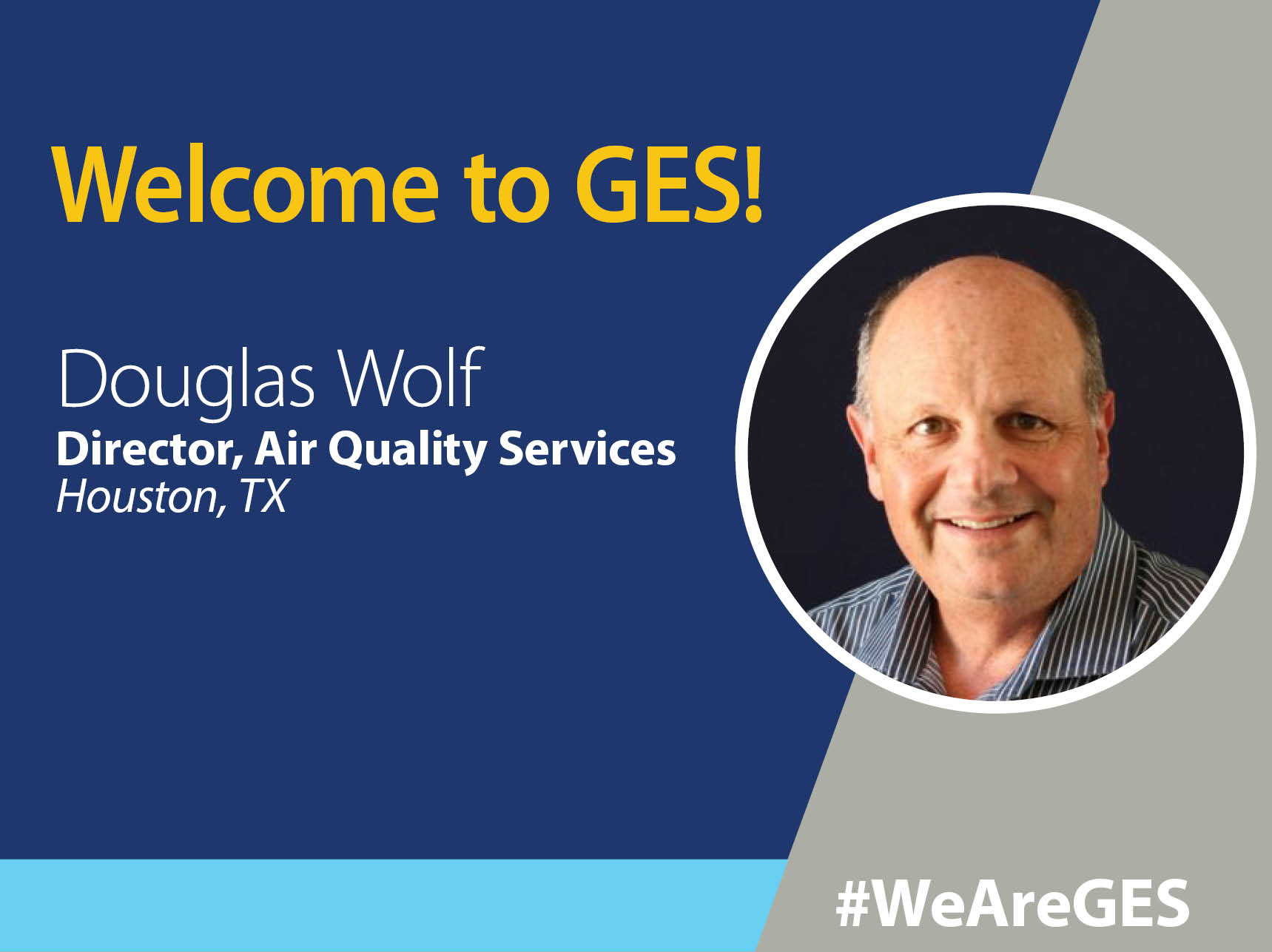Doug Wolf, Air Quality Specialist Joins GES