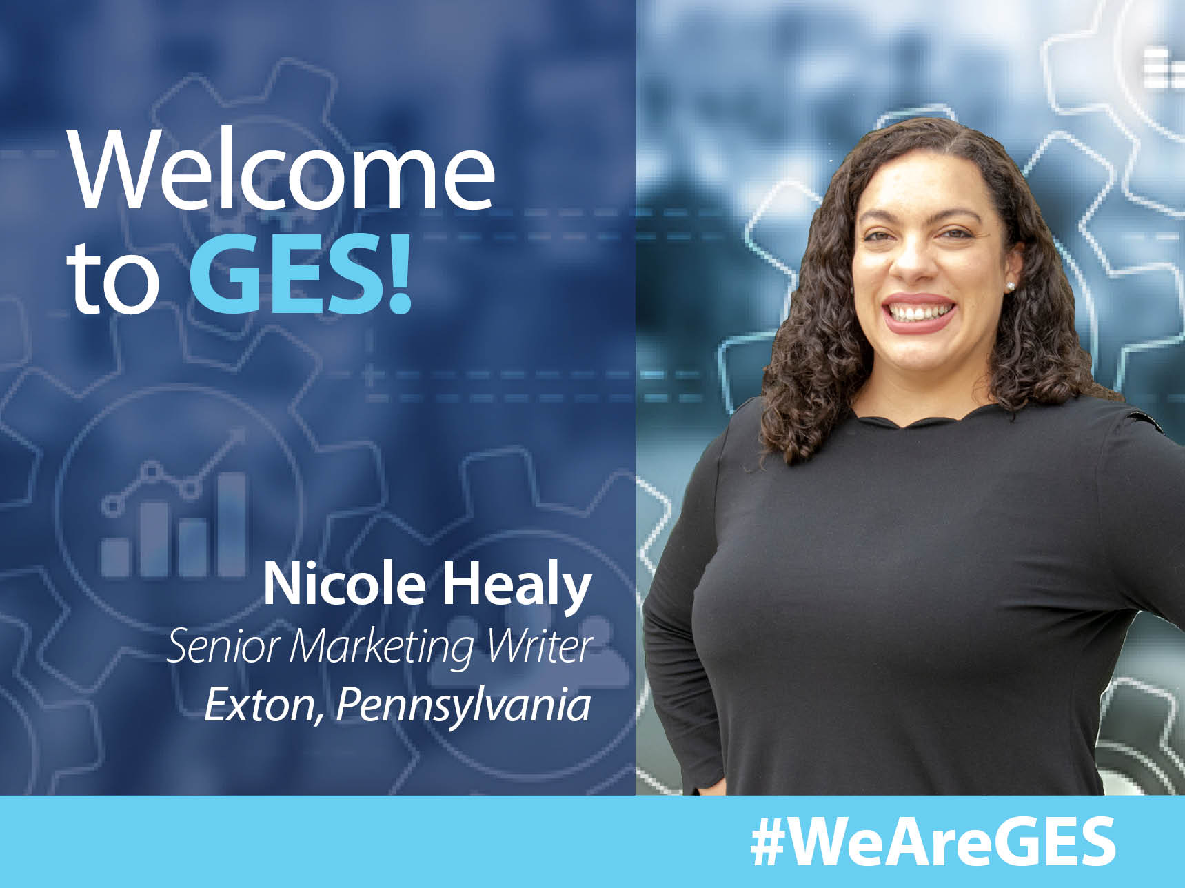GES Welcomes Nicole Healy, Senior Writer