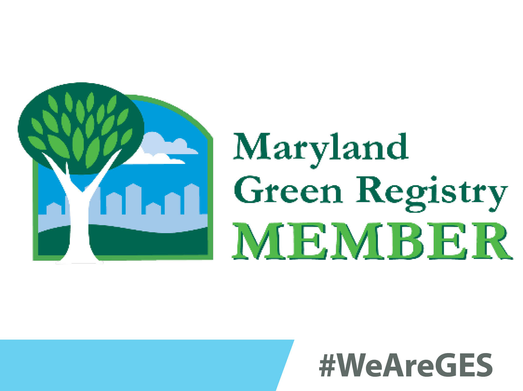 GES Recognized Maryland Green Registry Member