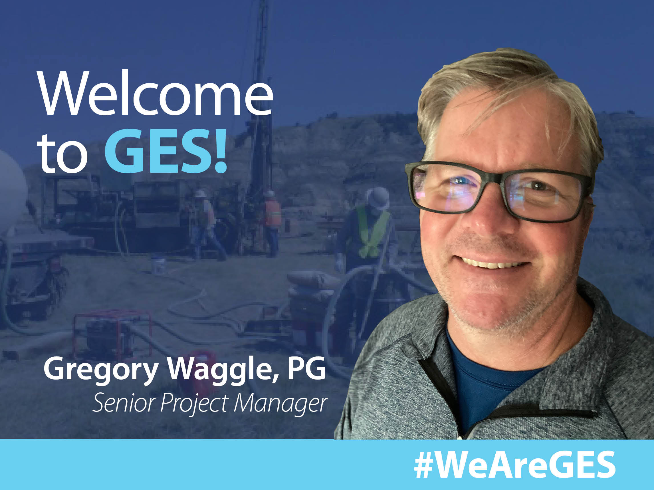 Greg Waggle, PG Joins GES